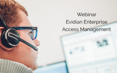 Webinar Evidian Enterprise Access Management